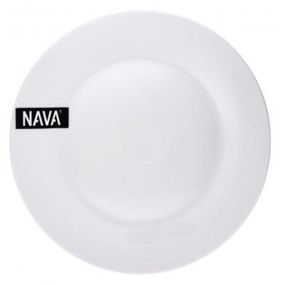 Πιάτο ρηχό πορσελάνινο λευκό επαγγελματικό - Nava