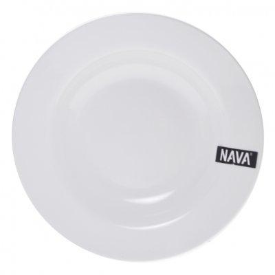 Πιάτο βαθύ πορσελάνινο λευκό επαγγελματικό - Nava