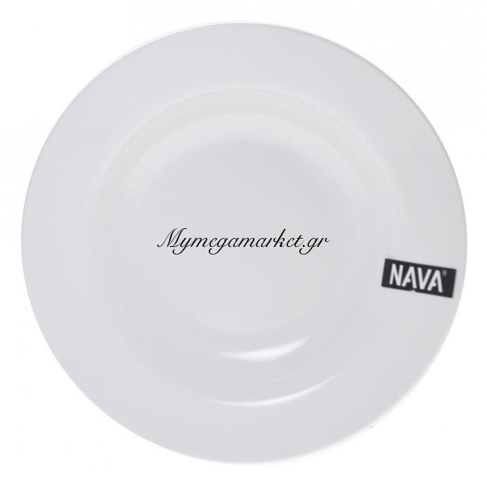 Πιάτο βαθύ πορσελάνινο λευκό επαγγελματικό - Nava | Mymegamarket.gr