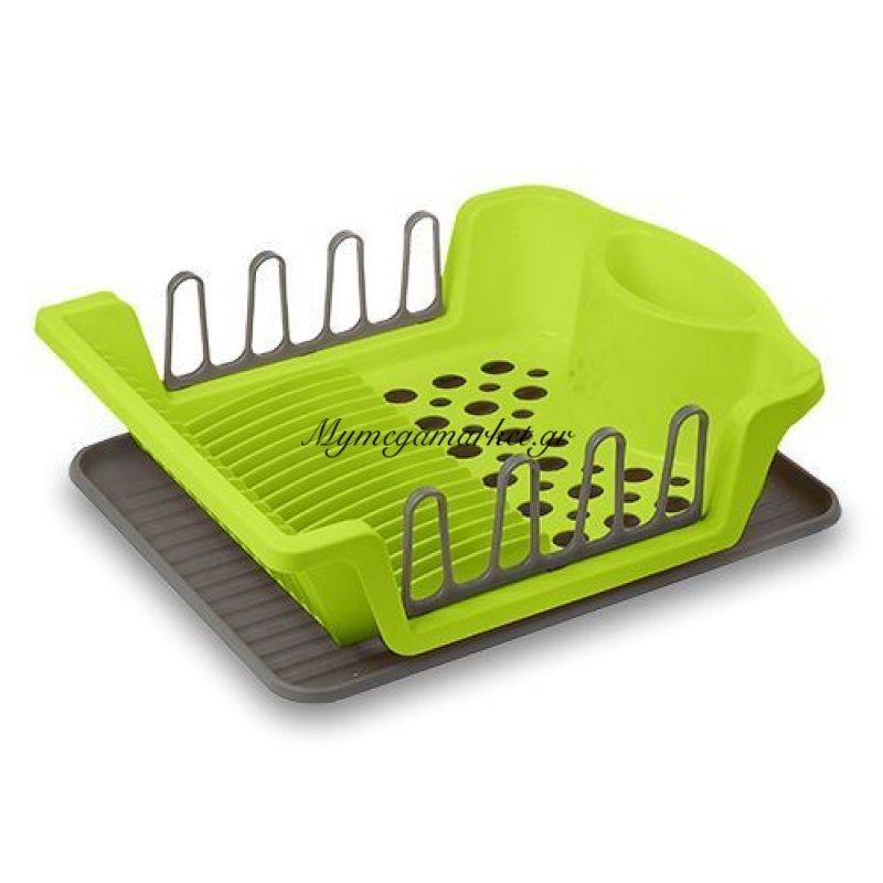 Πιατοθήκη πλαστική με δίσκο λαχανί - Nava Στην κατηγορία Πιατοθήκες - Κουταλοθήκες Πλαστικές | Mymegamarket.gr