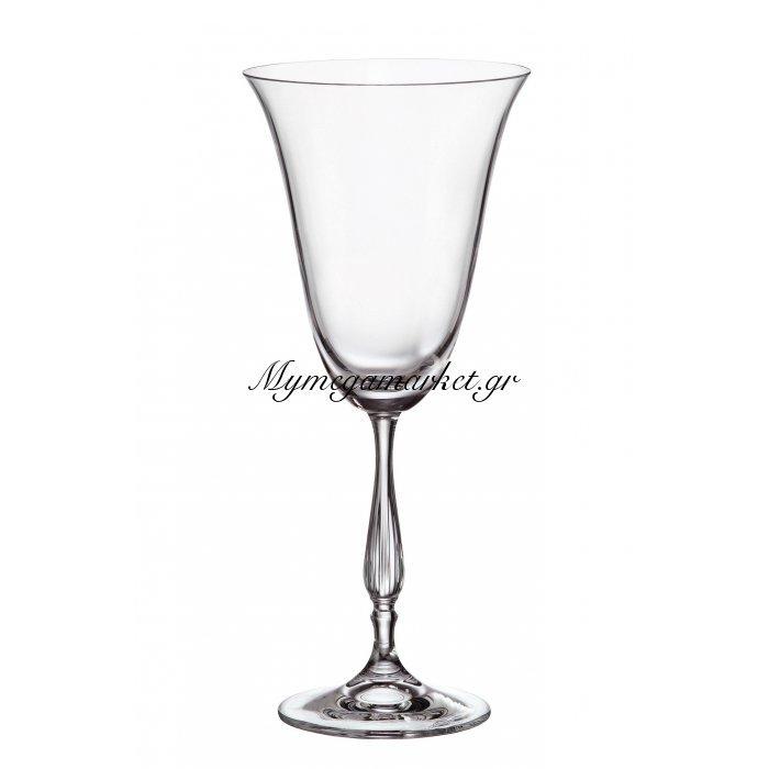 Ποτήρι κρασιού με πόδι κρυστάλλινο Bohemia 350 ml Antik | Mymegamarket.gr