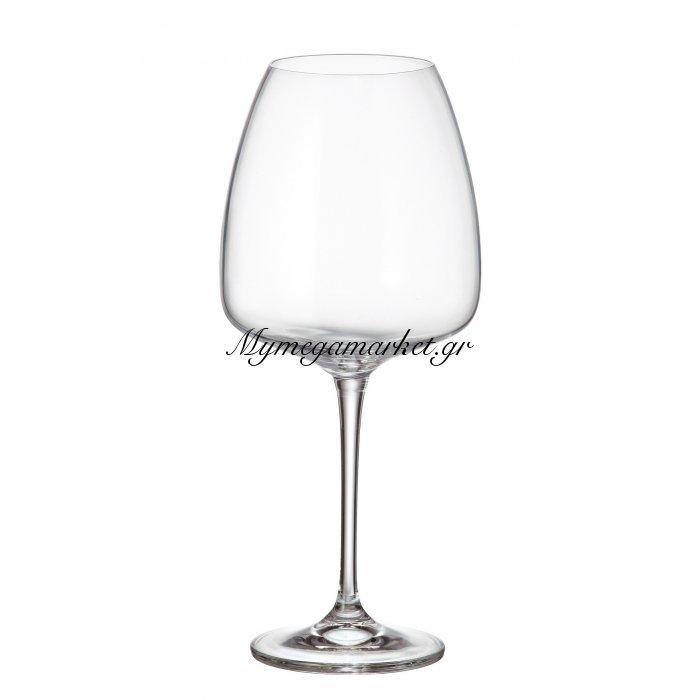 Ποτήρι νερού με πόδι κρυστάλλινο Bohemia 770 ml Alizee | Mymegamarket.gr
