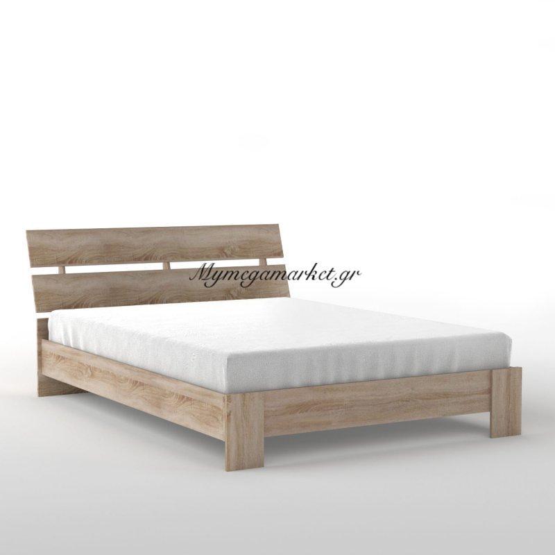 Κρεβάτι Greenwich 140X200 Ημίδιπλο Sonoma So-Grebed140