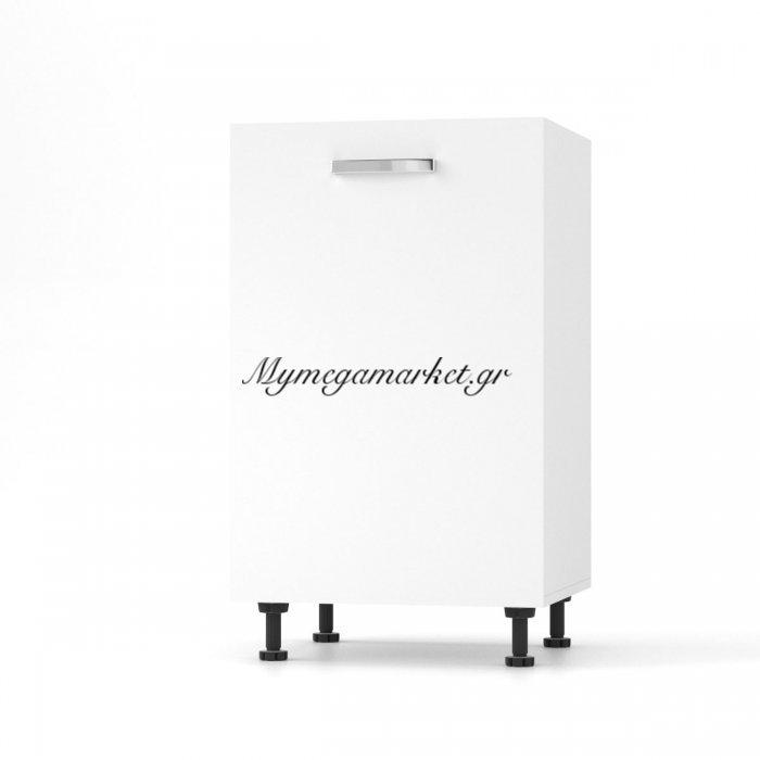 Charlotτe Κάτω Ντουλάπι  50X46.5X82 Με Μεταλλικά Χερούλια. Χρώμα Λευκο So-Cd50W | Mymegamarket.gr
