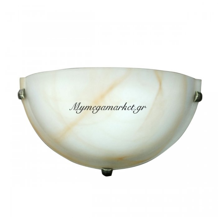 Φωτιστικό Τοίχου, Χρώμα Μελί, Αλάβαστρο, 30X15 Εκ. 1 Λάμπα Τύπου Ε27 (Max 40 Watt, Δεν Περιλαμβάνεται). Ta-6195Ha | Mymegamarket.gr