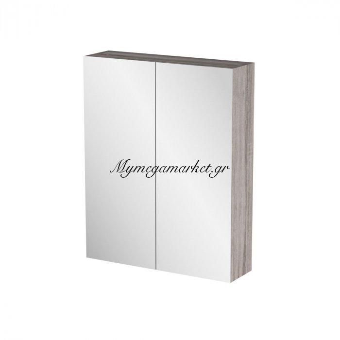 Καθρέπτης Μπάνιου Odelia Με 2 Ντουλάπια 52*14*65 Fil-000740Mirror   Mymegamarket.gr