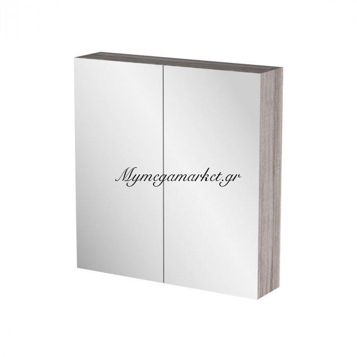 Καθρέπτης Μπάνιου Odelia Με 2 Ντουλάπια 62*14*65 Fil-000741Mirror   Mymegamarket.gr