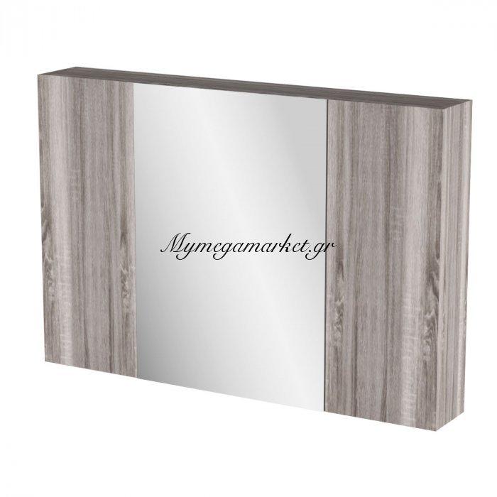 Καθρέπτης Μπάνιου Odelia  Με 3 Ντουλάπια 96*14*65 Fil-000749Mirror   Mymegamarket.gr