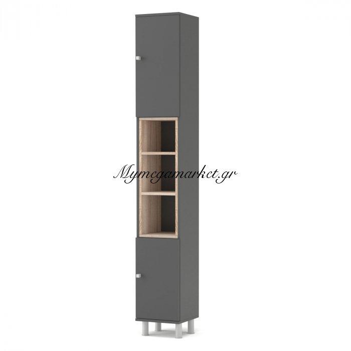 Στήλη Μπάνιου Lotus Χρώμα Γραφίτης-Σονόμα  30*30*200  To-Lotus2Dgrafite | Mymegamarket.gr