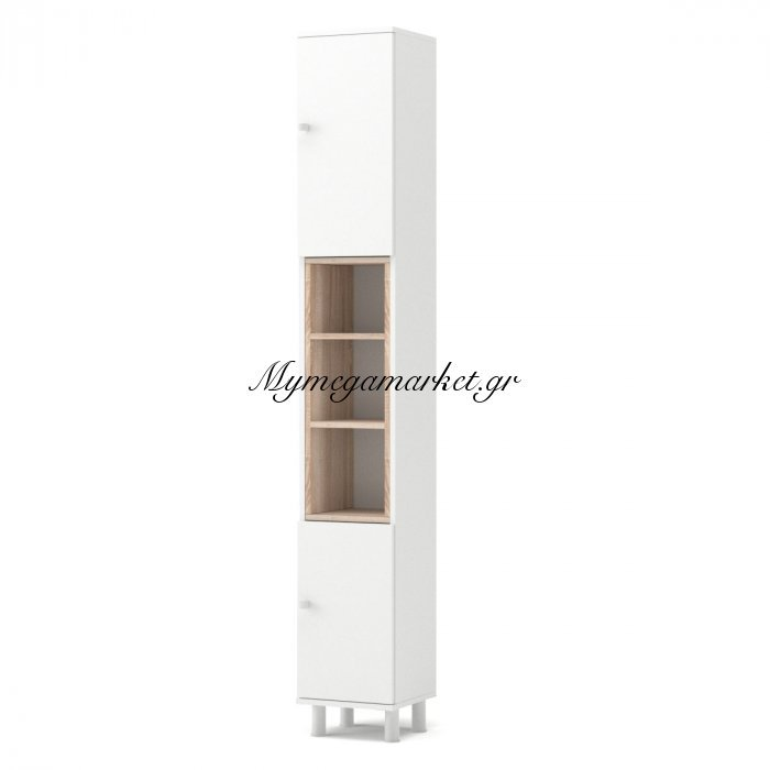 Στήλη Μπάνιου Lotus Χρώμα Λευκό-Σονόμα  30*30*200  To-Lotus2Dwhite | Mymegamarket.gr