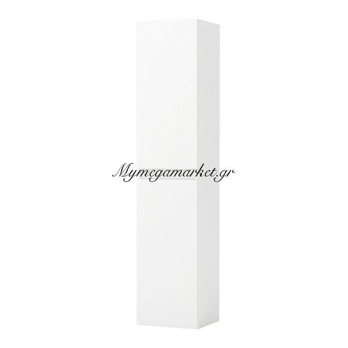 Στήλη Μπάνιου Bianca, Λευκό Gloss 35*30*160, Fil-000839   Mymegamarket.gr