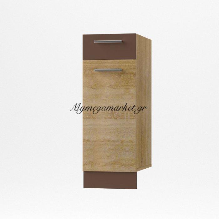 Alina Κάτω Ντουλάπι 30X44,5X85, Σονόμα-Μόκκα So-Ad30 | Mymegamarket.gr