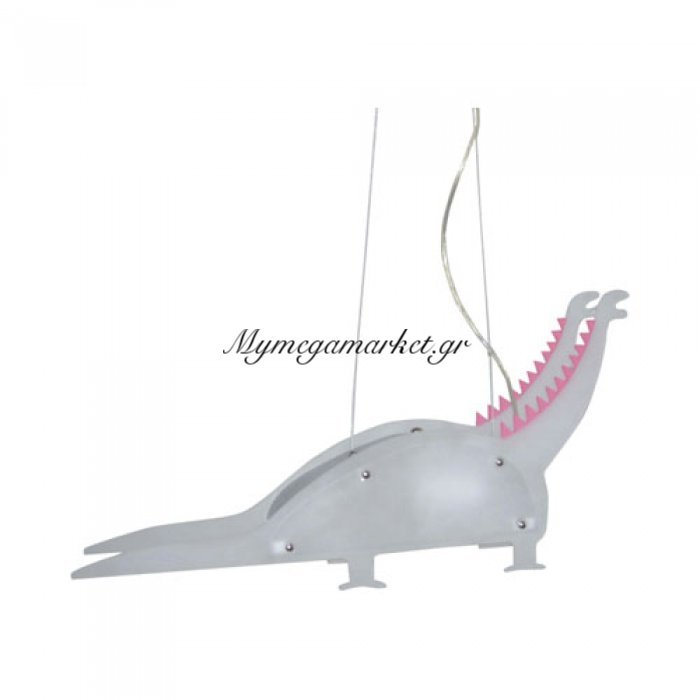 Παιδικό Κρεμαστό Φωτιστικό, Δεινόσαυρος, 1 Λάμπα Τύπου E27, 33*30*33, Πλαστικό, 5001 | Mymegamarket.gr