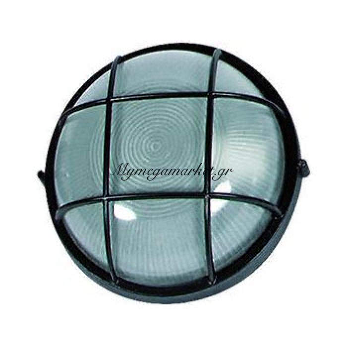 Φωτιστικό Τοίχου Και Οροφής Εξωτερικού Χώρου, Μαύρο, 1 Λάμπα Τύπου E27, 24*24*10, 1102L | Mymegamarket.gr