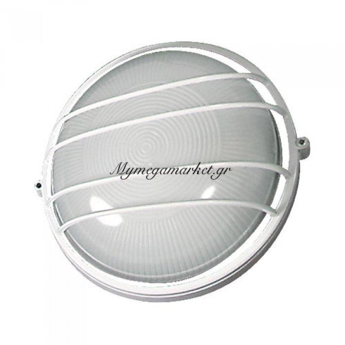 Φωτιστικό Τοίχου Και Οροφής Εξωτερικού Χώρου, Λευκό, 1 Λάμπα Τύπου E27, 24*24*10, 1104L | Mymegamarket.gr