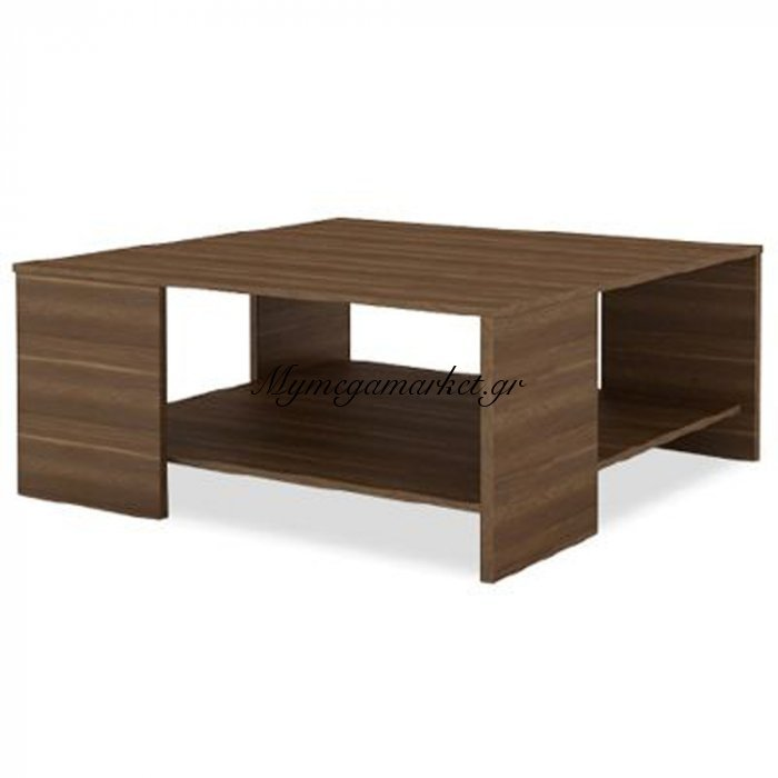 Centro Coffee Table Καρυδί 69 x 69 x H44 Εκ. | Mymegamarket.gr