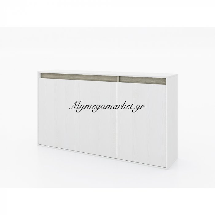 All Day Μπουφές Λευκό Oak Γκρι Oak 150,1 x 35 x H84 Εκ. | Mymegamarket.gr