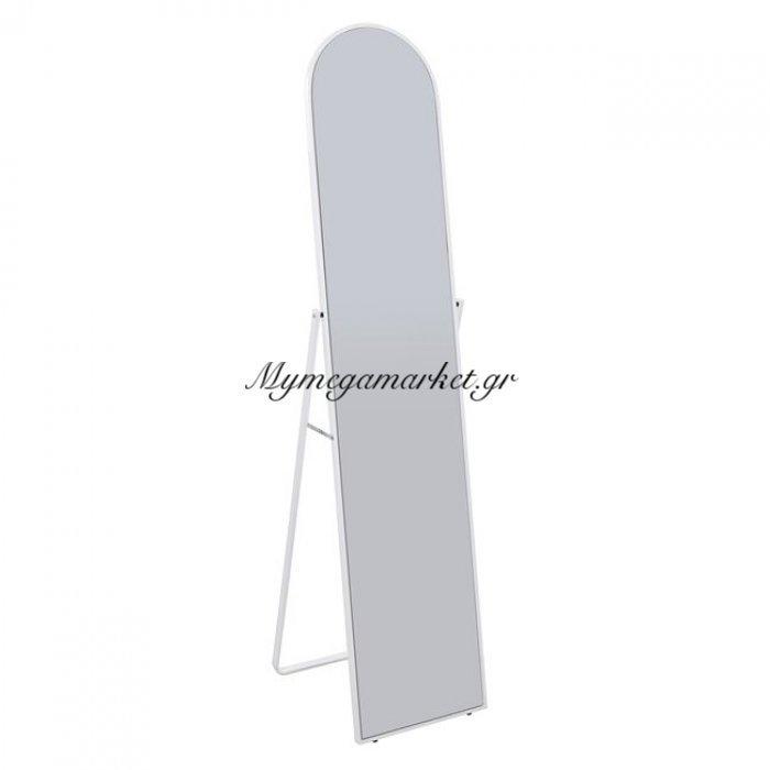 Καθρέπτης Δαπέδου Μεταλλικός Σε Χρώμα Λευκό Hm0601.01 39X44X160 | Mymegamarket.gr