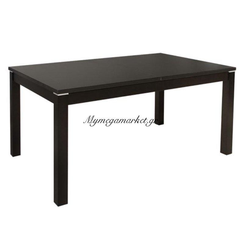Τραπέζι Τραπεζαρίας 150+44Χ90 Ανοιγμένο Ξύλινο Βέγγε Hm0066.02
