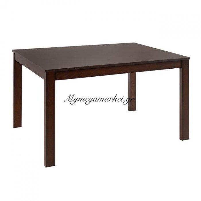 Τραπέζι Τραπεζαρίας Hm0124.01 120Χ80 Ξύλινο Καρυδί   Mymegamarket.gr