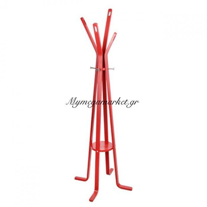 Καλόγερος Ξύλινος Hm0120.07 Funky Κόκκινος | Mymegamarket.gr