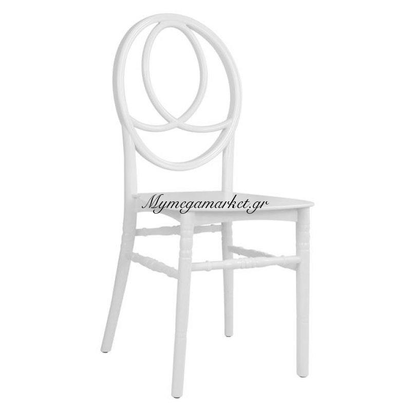 Καρέκλα Πολυπροπυλενίου Phonex Λευκή Hm8073