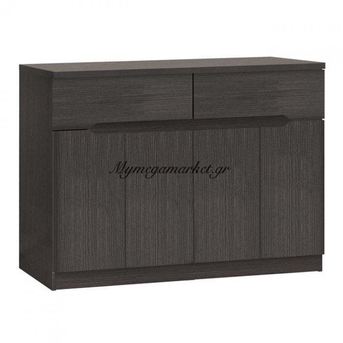 Μπουφές Hm2234.01 2 Συρτάρια & 4 Πόρτες Zebrano 120X40X80Εκ. | Mymegamarket.gr