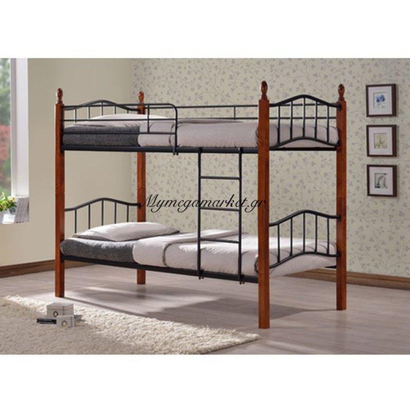 Κουκέτα Κρεβάτι Max Hm300 90Χ190 Μέταλλο+Ξύλο