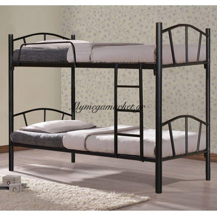 Κουκέτα Κρεβάτι Μεταλλική Floor Hm328.01 90Χ190 | Mymegamarket.gr