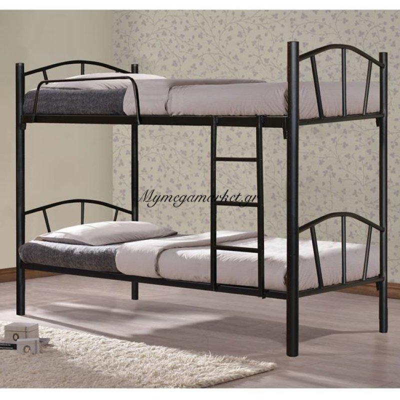 Κουκέτα Κρεβάτι Μεταλλική Floor Hm328.01 90Χ190
