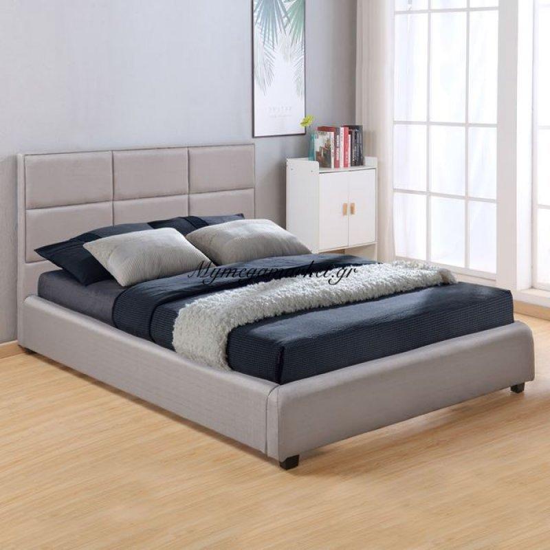 Κρεβάτι Briley Με ύφασμα Γκρι Hm555.04 150X200