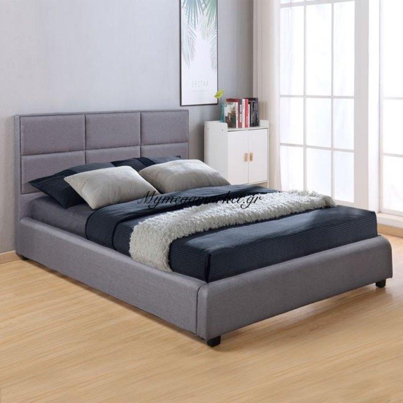 8ec2dc80276 -46% Κρεβάτι Briley Με Ύφασμα Dark Grey Hm555.05 150X200 Στην κατηγορία  Κρεβάτια ξύλινα - Μεταλλικά