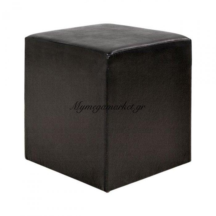 Σκαμπώ Επαγγελματικό Pu Μαύρο Τετράγωνο 38.5X38.5X42.5 Hm282.02 | Mymegamarket.gr