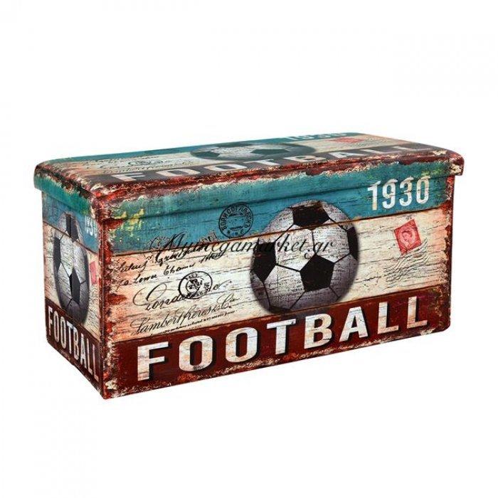 Σκαμπω Με Αποθηκευτικό Χώρο Hm265 Football 80X40X40 | Mymegamarket.gr