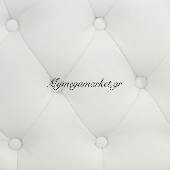 Ανάκλινδρο T.Chesterfield Niovi Hm3007.02 Pu Λευκό Αρ. Μπράτσο Στην κατηγορία Ανάκλινδρα | Mymegamarket.gr