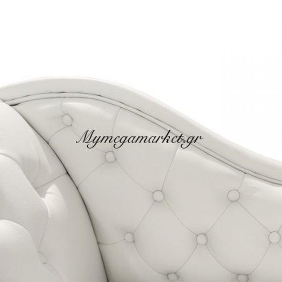 Ανάκλινδρο T.Chesterfield Myrto Hm3005.02 Pu Λευκό Αρ.Μπράτσο Στην κατηγορία Ανάκλινδρα   Mymegamarket.gr