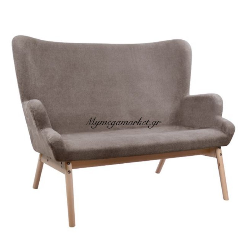 Καναπές Ruby Hm0113.01 Καφέ