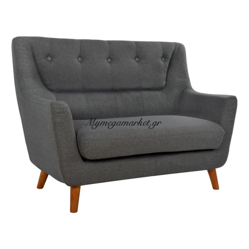 Καναπές 2Θέσιος Curtis Hm3071.01 Σε Ανθρακί
