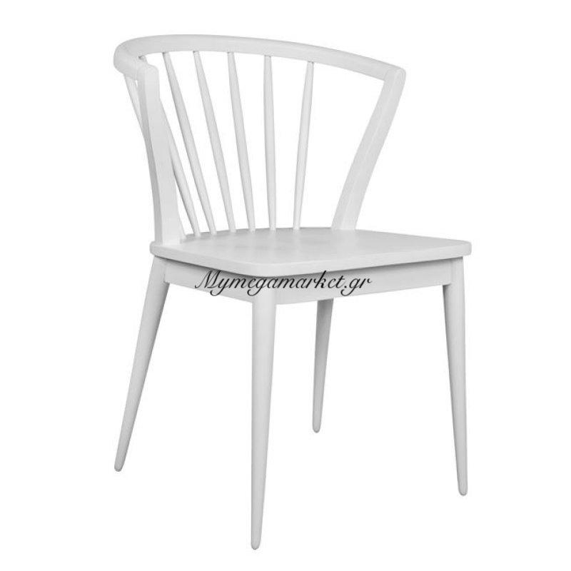 Καρέκλα Ξύλινη Pavillion Hm0147.01 Λεύκη