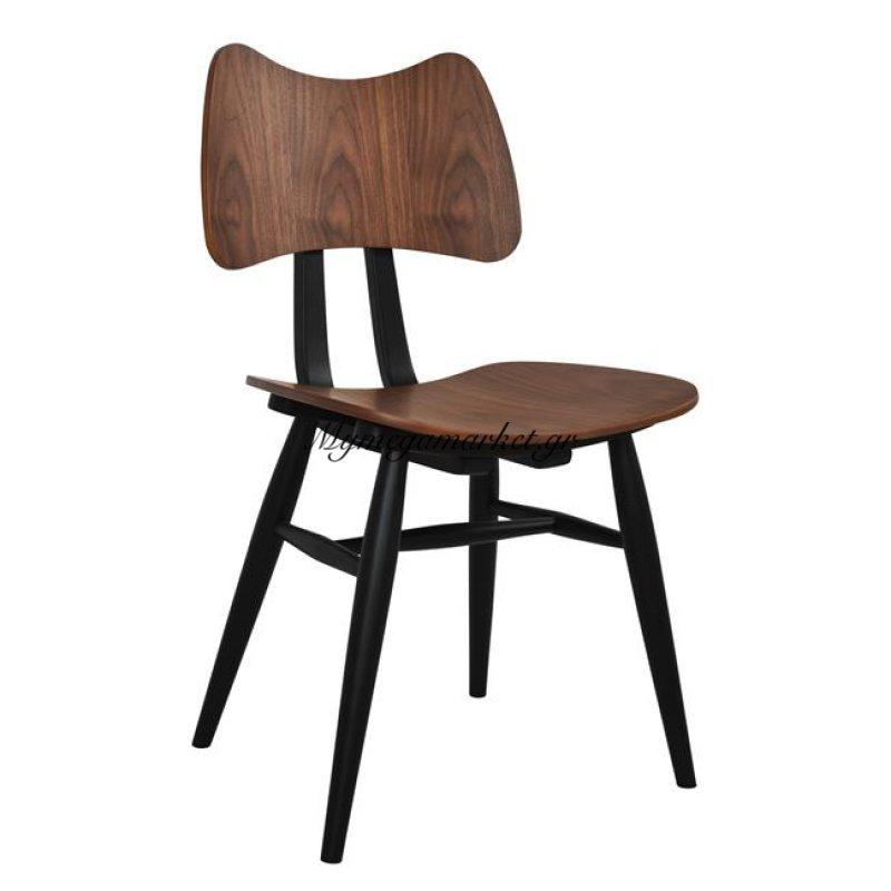 Καρέκλα Τραπεζαρίας Καρυδί Madge Hm8034