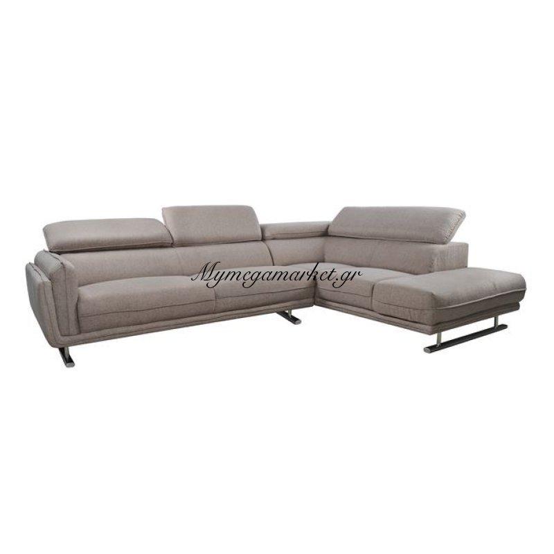 Καναπές Γωνία Δεξιά Dafni Καφέ Hm3025.01R