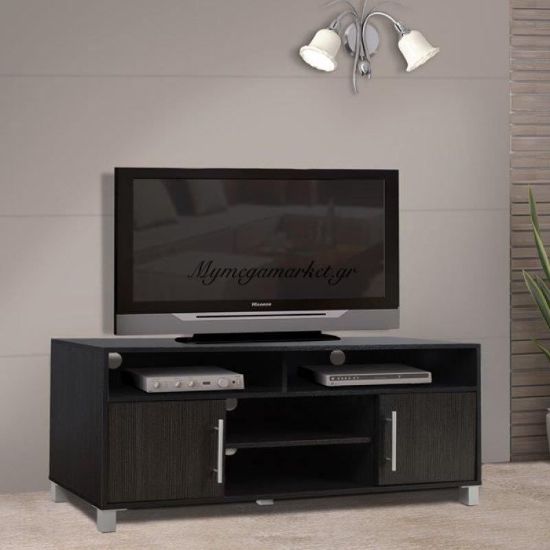 Έπιπλο Τηλεόρασης Μελαμίνης Hm2202.01 Zebrano 120X40X54 Εκ.