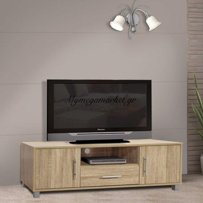 Έπιπλο Τηλεόρασης Μελαμίνης Hm2203.02 Sonama 120X40X39 Εκ. | Mymegamarket.gr