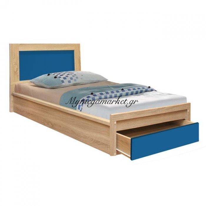 Κρεβάτι Με Συρτάρι Playroom Hm330.01 Sonama-Σιέλ 90Χ190Εκ.   Mymegamarket.gr