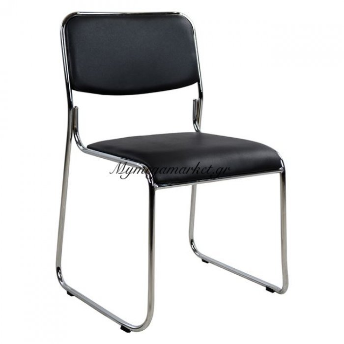 Καρέκλα Συνεργασίας Γραφείου Hm1019.01 Μαύρη | Mymegamarket.gr