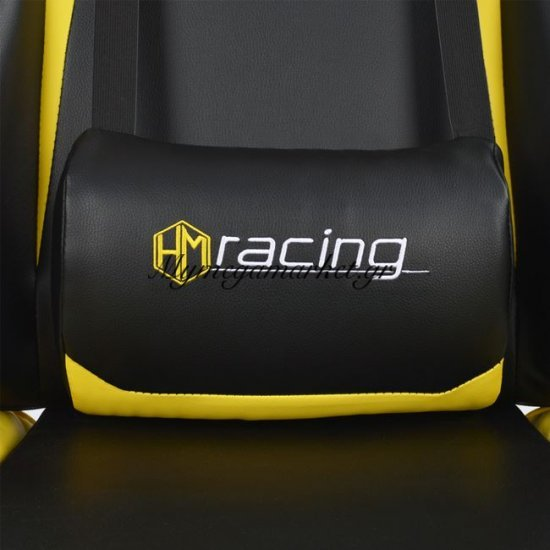 Πολυθρόνα Gaming Hm1056.11 Μαύρο-Κίτρινο Pu Στην κατηγορία Καρέκλες - Πολυθρόνες γραφείου | Mymegamarket.gr