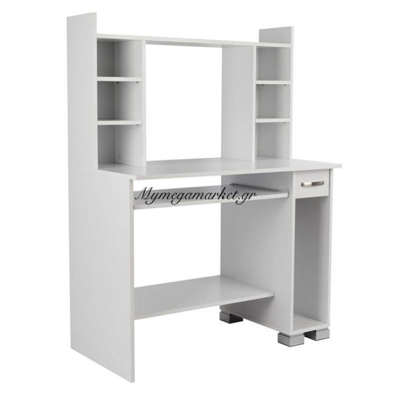 Γραφείο Υπολογιστή Λευκό Hm2039.03