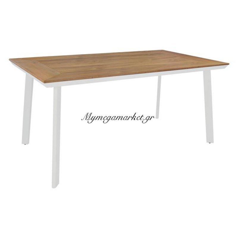 Τραπέζι Τραπεζαρίας Hm5132.01 Λευκό 160X92X72