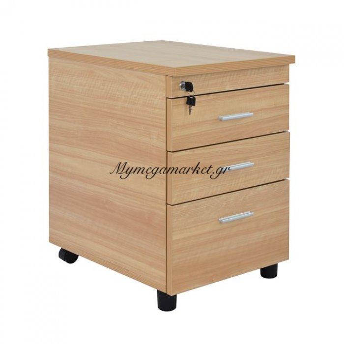 Συρταριέρα Γραφείου Επαγγελματική Οξιά Hm2048.01 40X52X60 | Mymegamarket.gr