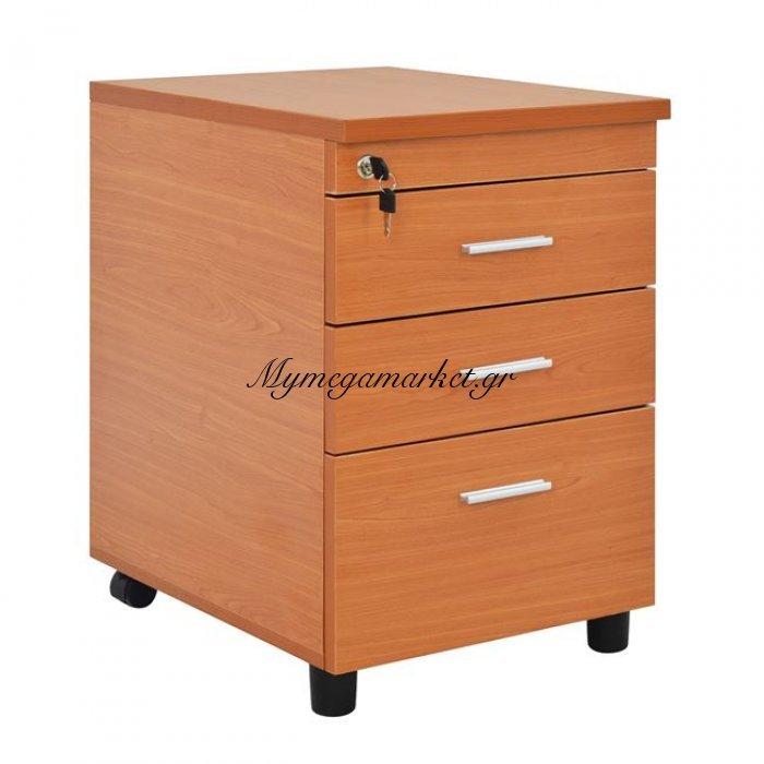 Συρταριέρα Γραφείου Επαγγελματική Κερασί Hm2048.03 40X52X60 | Mymegamarket.gr
